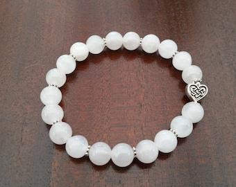 Milky Quartz bracelet
