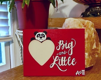 Alpha Omicron Pi AOII Big and Little Picture Frame