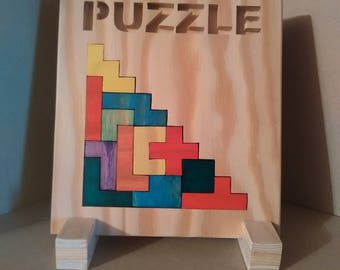 """Frame puzzle / puzzle: """"Stairs"""""""