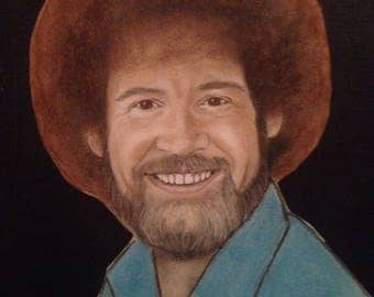 Bob Ross Portrait