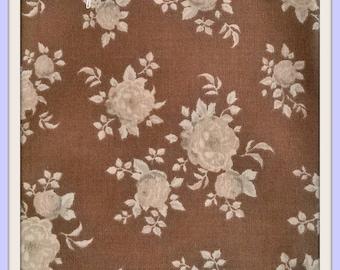 Tilda aurora brown fabrics