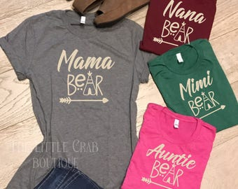 Mama Bear Namesake Tees