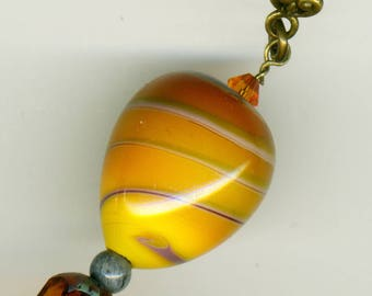 "Pendant assembled by myself ""autumnal balloon ride"