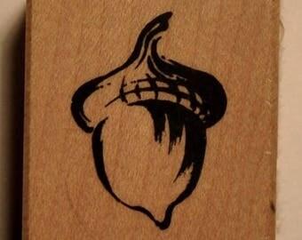 Wood - Acorn stamps