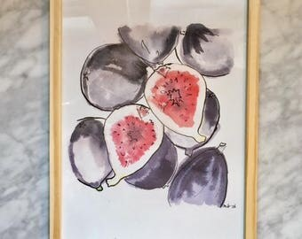 Figs - A4 framed
