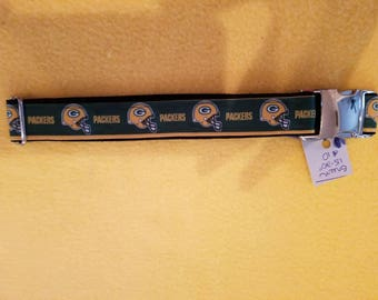 "Green Bay Packers 15""-20"" Dog Collar"