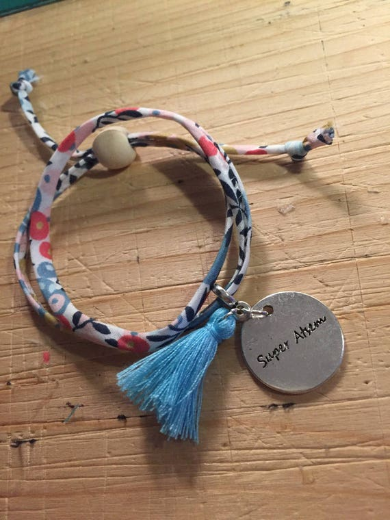"Bracelet Liberty Medallion ""super school"""