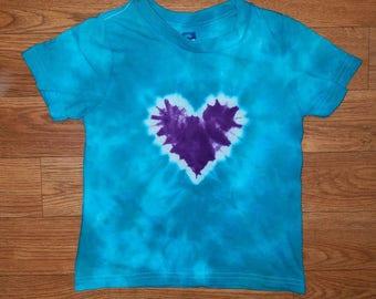 Mermaid Love Kids Tie Dye Shirt