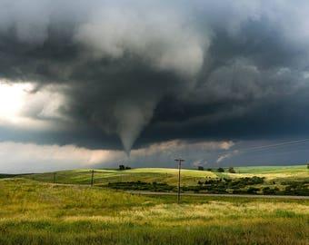 Tornado photo storm photography landscape photography landscape photo storm cloud tornado print storm photo fine art wall art photography