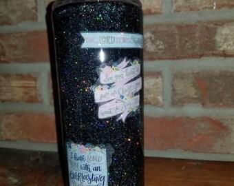 Custom Glitter Tumblers