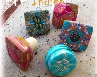 Indian summer - original bottle stoppers
