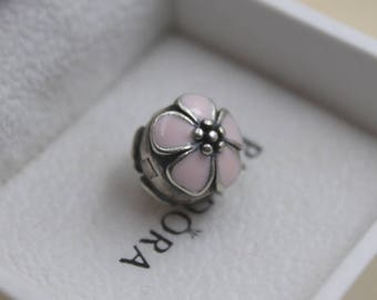 Authentic Pandora Cherry Blossoms Clip Stopper Pink 791041EN40