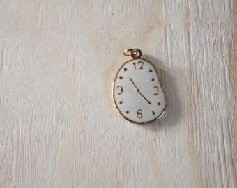 Small metal clock