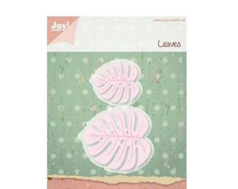 Joy Crafts 2 die cut leaves Exotic new