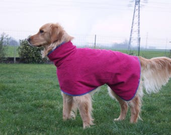 Terry Robe for medium size dog, choice of color
