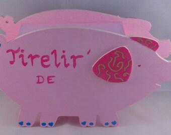 Tirelir' cute little pig to customize
