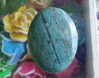 1 cabochon of agate with hues of 40x30mm