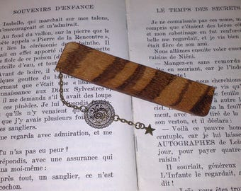 Bookmarks with Zebrawood
