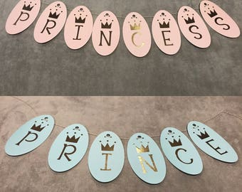 Prince or Princess Banner-Gender Reveal