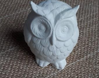 Raw cast OWL decoration