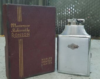 Ronson Mastercase Lighter: Vintage-Collectible-Antique
