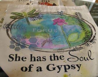 Soul of a Gypsy tote bag