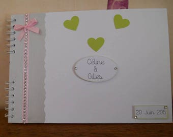 Guestbook for wedding, engagement...
