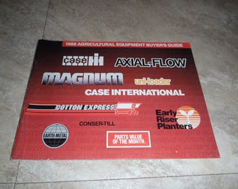 Case IH 1988 Agricultural Equipment Buyers Guide