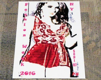 Fashion Week, New York City / Fine Art Print