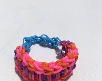 Multicolor Ladder Bracelet