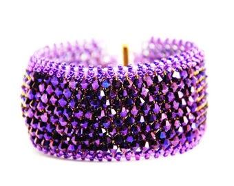 Seductive Purple Cuff