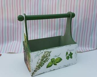 Herb tray kitchen