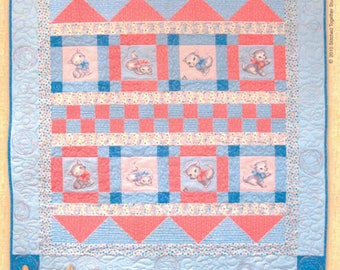 Purrfectly Precious Quilt Kit