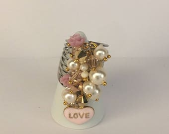 Love is in the air stacked ring