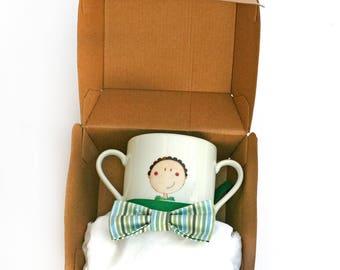 Baby bib - Lulu ball & Mug box