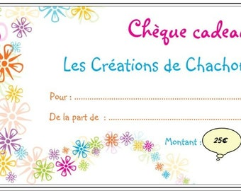 Creations of Chachon gift jewelry €25