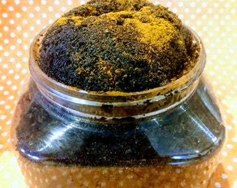 12oz Cinnamon and coffee sugar scrub, body scrub, hand scrub, skin exfoliate, natural body scrub, beauty, anti aging, skincare, moisturizing
