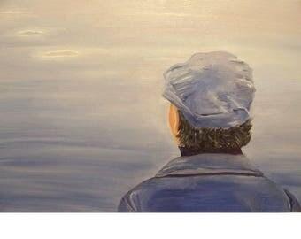 Seaman contemplating the sea