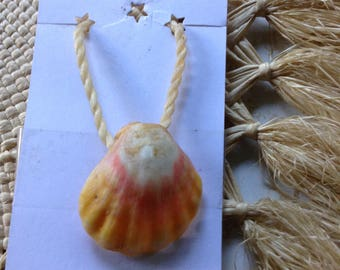 Sunrise Shell Pendant