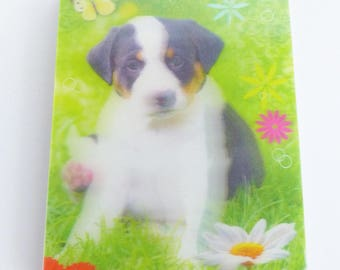 Notepad cover 3D Jack Russel puppy dog