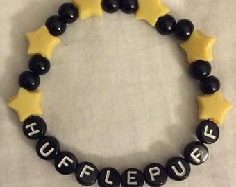 Handmade Hufflepuff Bracelet