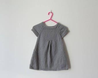 Woolen girl - dress 4/5 years - fall/winter 2017