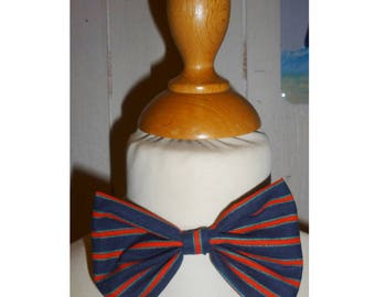 Bow tie boy blue and red stripes