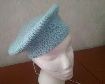 Cool Barrett hat in sky blue / designer hat / unique / one-off / Cap / Barrett / Cap