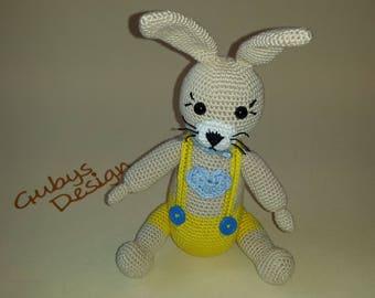 """Crochet Bunny """"grace"""""""