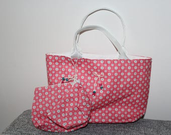 Whole bag pink flower girl with purse and wallet