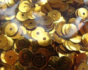 Copper gold glitter