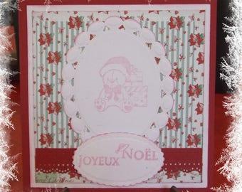 Merry Christmas bear card