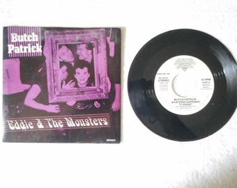 """Butch Patrick, aka Eddie Munster, 45 RPM Promo copy of """"Eddie and the Monsters"""" record"""