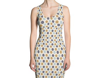 Polkadot Sublimation Cut & Sew Dress